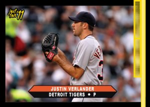 Tigers Justin Verlander Just Fair custom card