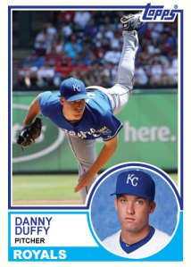1983 Topps Royals Danny Duffy