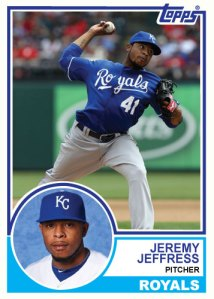1983 Topps Royals Jeremy Jeffress