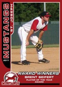 2011 Mustangs Brent Seifert Award Winners