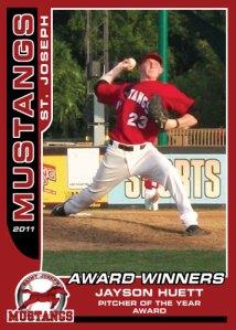 2011 Mustangs Jayson Huett Award Winners