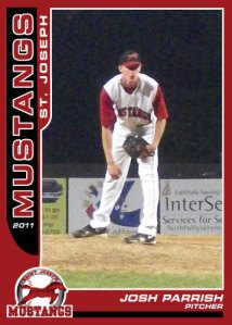 2011 Mustangs Josh Parrish