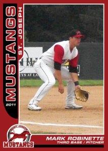 2011 Mustangs Mark Robinette