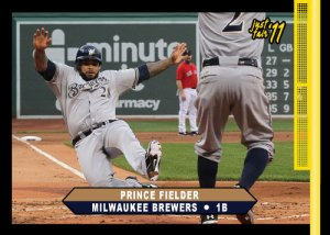 Brewers Prince Fielder Just Fair custom card