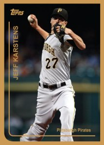 Jeff Karstens 1999 Topps custom card