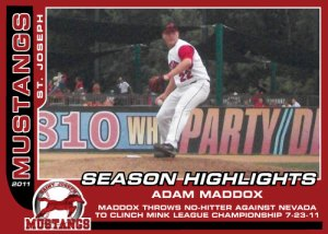 2011 Mustangs Adam Maddox Season Highlights