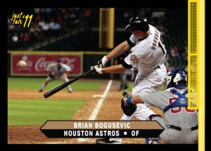 Astros Brian Bogusevic Just Fair 2011