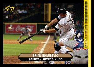 Astros Brian Bogusevic Just Fair 2011