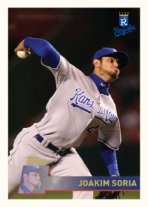 History Of Joakim Soria 1996 Topps custom card