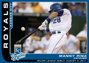 Major League Debut Manny Pina