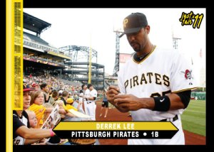 Pirates Derrek Lee Just Fair '11 Custom Card