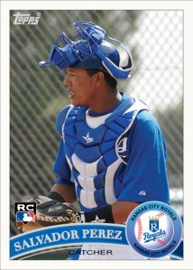 Salvador Perez 2011 Topps custom card