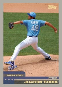 History Of Joakim Soria 2000 Topps custom card