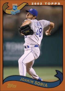 History Of Joakim Soria 2002 Topps custom card