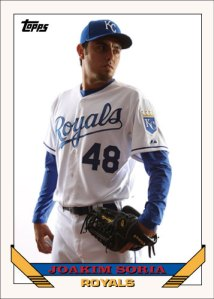 History Of Joakim Soria 1993 Topps custom card