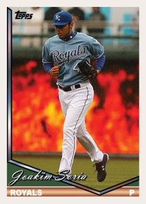 History Of Joakim Soria 1994 Topps custom card