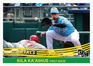 Kila Ka'aihue 1984 Donruss custom card