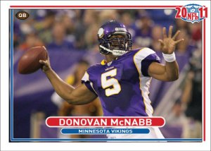 NFL 2011 Vikings Donovan McNabb