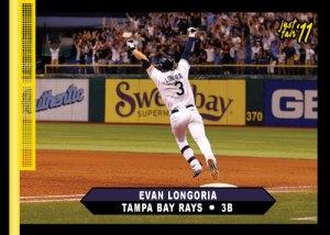 Rays Evan Longoria Just Fair 2011 custom card