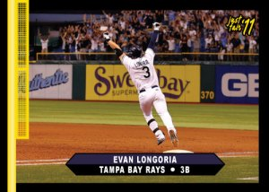Rays Evan Longoria Just Fair 2011 custom card