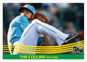 Tim Colllins 1984 Donruss custom card