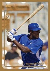 Lorenzo Cain 1999 Topps custom card