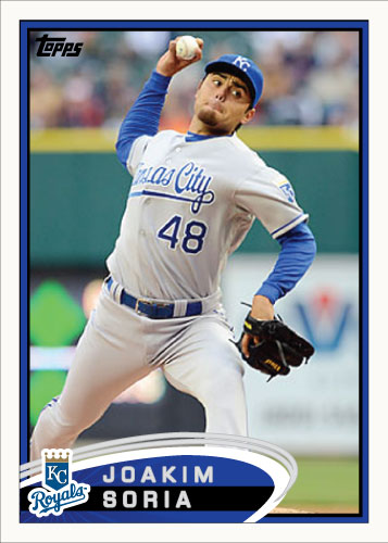 History Of Joakim Soria 2012 Topps custom card