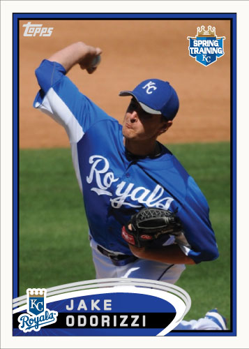 Jake Odorizzi 2012 Topps Spring Training custom card