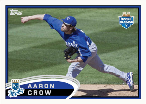 Aaron Crow 2012 Spring Training