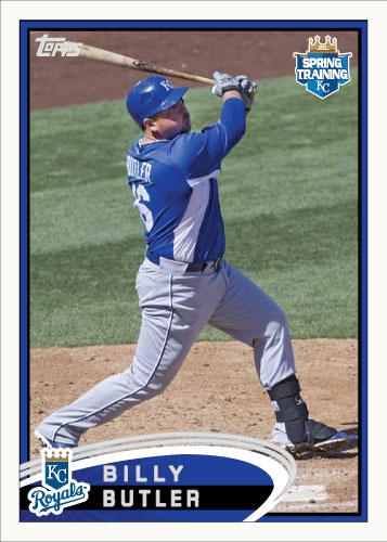 Billy Butler 2012 Spring Training