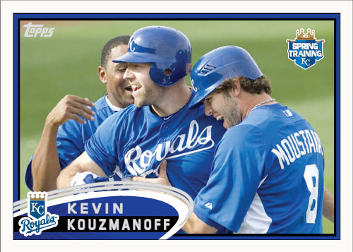 Kevin Kouzmanoff 2012 Spring Training custom card