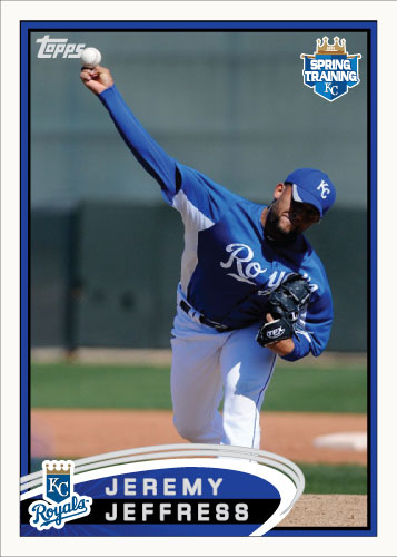 Jeremy Jeffress 2012 Spring Training custom card
