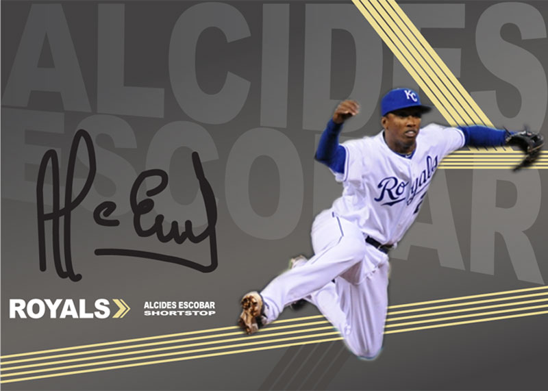 Alcides Escobar Skills card
