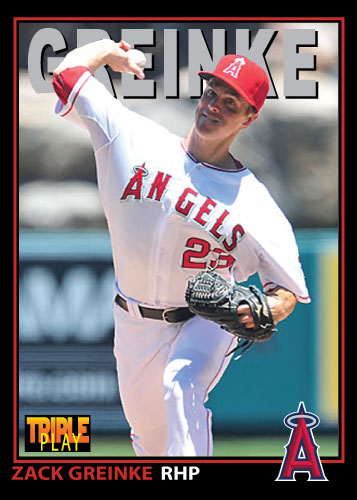 Zack Greinke 1993 Triple Play custom card