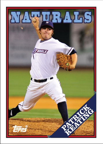 Naturals Patrick Keating custom card
