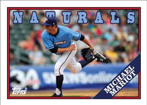 Naturals Michael Mariot custom card