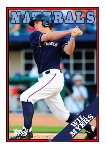 Naturals Wil Myers custom card