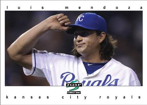 Luis Mendoza 1997 Score custom card