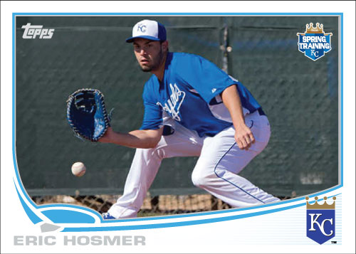 Eric Homser custom card for 2013 Spring Training.