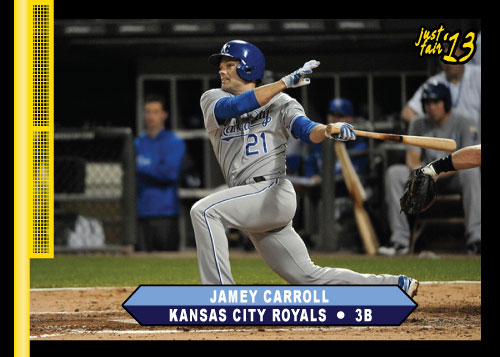 Jamey Carroll 2013 Just Fair custom card