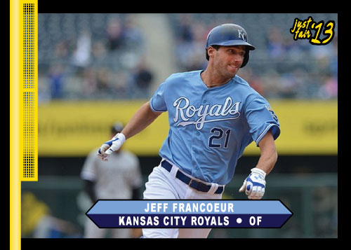 Jeff Francoeur 2013 Just Fair custom card