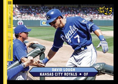 David Lough 2013 Just Fair custom card