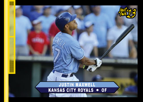 Justin Maxwell 2013 Just Fair custom card