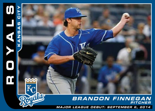 MLB Debut custom card Brandon Finnegan