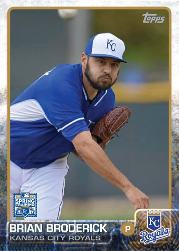2015 Kansas City Royals Spring Training set - Brian Broderick