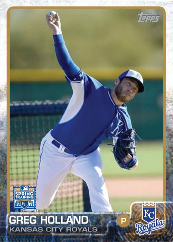 2015 Kansas City Royals Spring Training set - Greg Holland