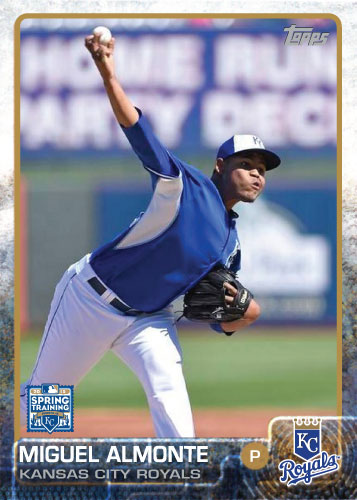 2015 Kansas City Royals Spring Training set - Miguel Almonte
