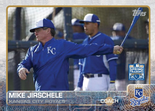 2015 Kansas City Royals Spring Training set - Mike Jirschele
