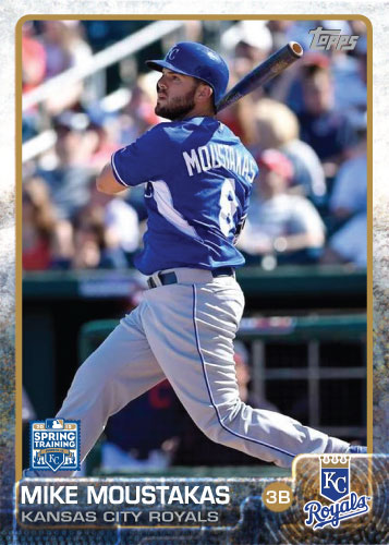 2015 Kansas City Royals Spring Training set - Mike Moustakas