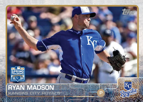2015 Kansas City Royals Spring Training set - Ryan Madson